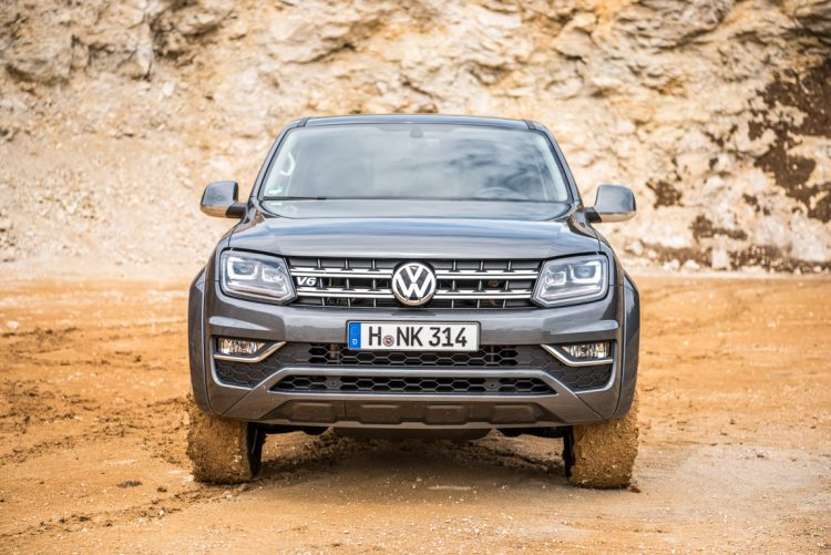 Volkswagen VW Amarok Pick Up Test Fahrbericht Offroad Steinbruch AUTOmativ.de Benjamin Brodbeck 10 750x501 - Härtetest: Stärkster VW Amarok V6 mit 258 PS im Steinbruch