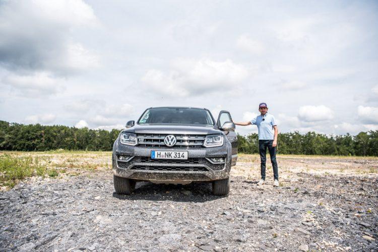 Volkswagen VW Amarok Pick Up Test Fahrbericht Offroad Steinbruch AUTOmativ.de Benjamin Brodbeck 16 750x501 - Härtetest: Stärkster VW Amarok V6 mit 258 PS im Steinbruch