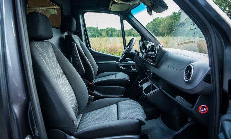 Mercedes Benz Sprinter 316 CDi Nutzfahrzeug Kastenwagen Test und Fahrbericht AUTOmativ.de Benjamin Brodbeck 64 750x450 - Praxistest Mercedes-Benz Sprinter 316 CDI: Multimedial und intuitiv - der beste Kastenwagen?