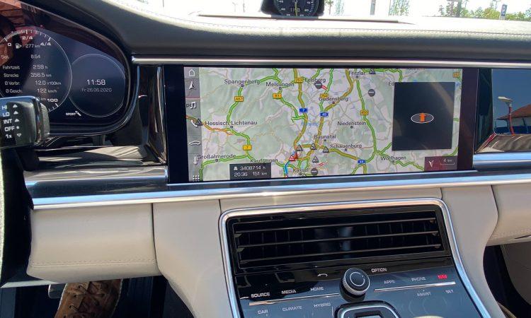 Porsche Panamera Navigationssystem Fehler Stunden 1 750x450 - 34.087:14 Stunden Verzögerung im Porsche Navi für 151 Kilometer?!