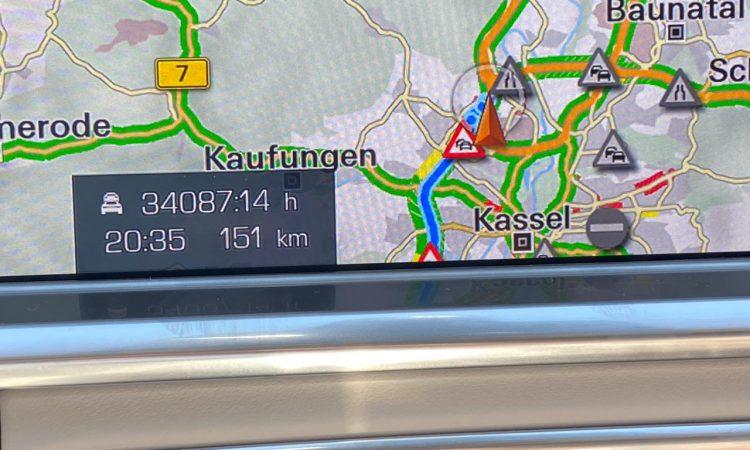 Porsche Panamera Navigationssystem Fehler Stunden 6 750x450 - 34.087:14 Stunden Verzögerung im Porsche Navi für 151 Kilometer?!