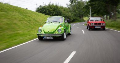"""Wenn Cabrio, dann VW Käfer 1303 oder Golf 1 """"Erdbeerkörbchen""""?"""