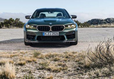 Der neue BMW M5 CS: 70kg leichter als der BMW M5 Competition