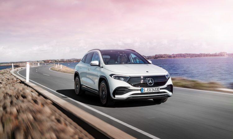 Mercedes Benz EQA 2021 14 750x450 - Neuer EQA von Mercedes-Benz: Elektro-GLA mit Gesichts-OP