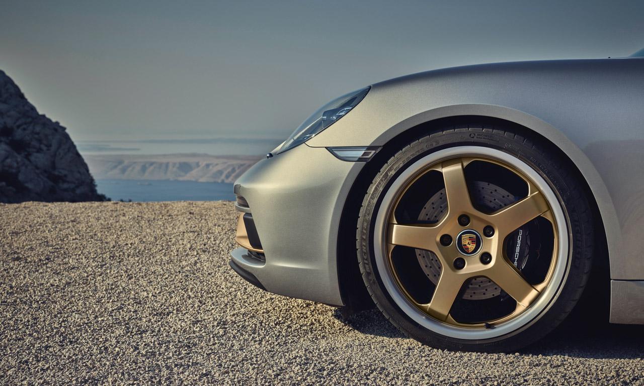 Porsche Boxster 25 Jahre limitiertes Jubilaeumsmodell 11 - Porsche Boxster 25 Jahre: Limitiertes Jubiläumsmodell mit goldenen Applikationen