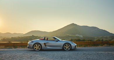 Porsche Boxster 25 Jahre: Limitiertes Jubiläumsmodell mit goldenen Applikationen