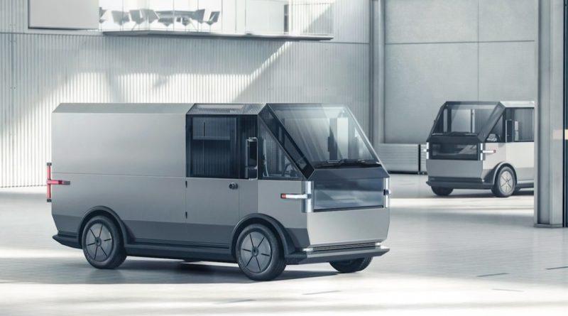 Canoo Fully Electric Multi Purpose Delivery Vehicle MPDV Transporter Elektro Van AUTOmativ.de 11 800x445 - Canoo MPDV: Coolster elektrischer US-Transporter kommt von Canoo!