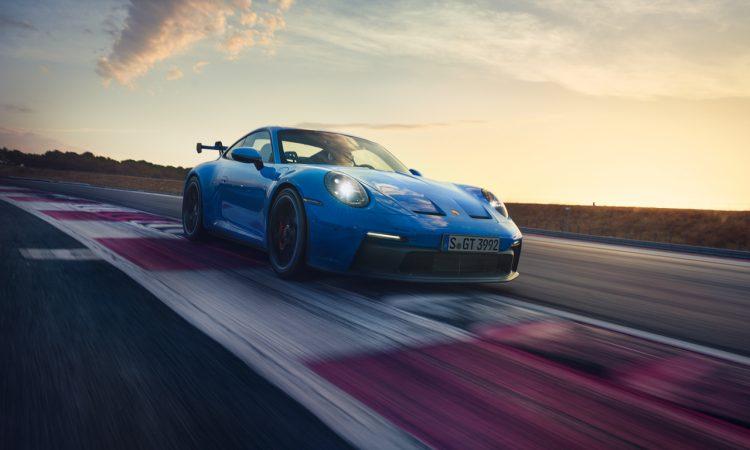 Neuer Porsche 911 GT3 992 Shark Blue 510 PS AUTOmativ.de 5 750x450 - Neuer Porsche 911 GT3 (992) 17 Sekunden schneller als Vorgänger