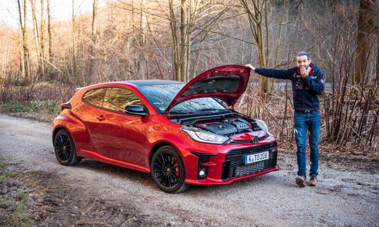 Toyota GR Yaris 2021 261 PS Allrad Karmina Rot Test und Fahrbericht WRC AUTOmativ.de Benjamin Brodbeck 33 750x450 - Toyota GR Yaris (2021) im Test und Deep-Dive: WRC-Rallyeauto für alle!