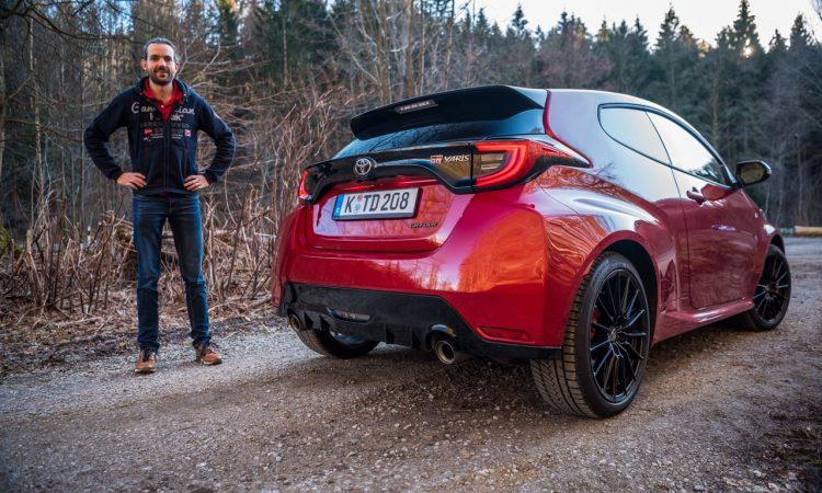 Toyota GR Yaris 2021 261 PS Allrad Karmina Rot Test und Fahrbericht WRC AUTOmativ.de Benjamin Brodbeck 44 750x450 - Toyota GR Yaris (2021) im Test und Deep-Dive: WRC-Rallyeauto für alle!