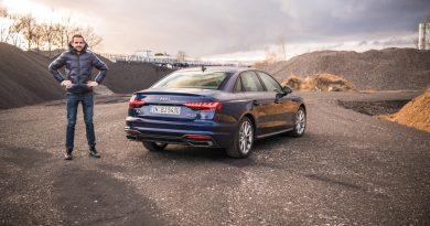 Audi A4 40 TDI quattro mHEV Mild Hybrid im Test AUTOmativ.de Benjamin Brodbeck 13 390x205 - Audi A4 40 TDI quattro im Fahrbericht: Des Vielfahrers Liebling