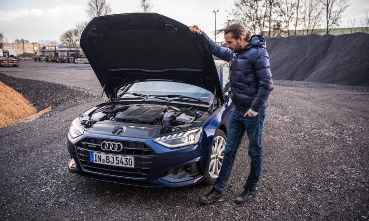 Audi A4 40 TDI quattro mHEV Mild Hybrid im Test AUTOmativ.de Benjamin Brodbeck 21 750x450 - Audi A4 40 TDI quattro im Fahrbericht: Des Vielfahrers Liebling