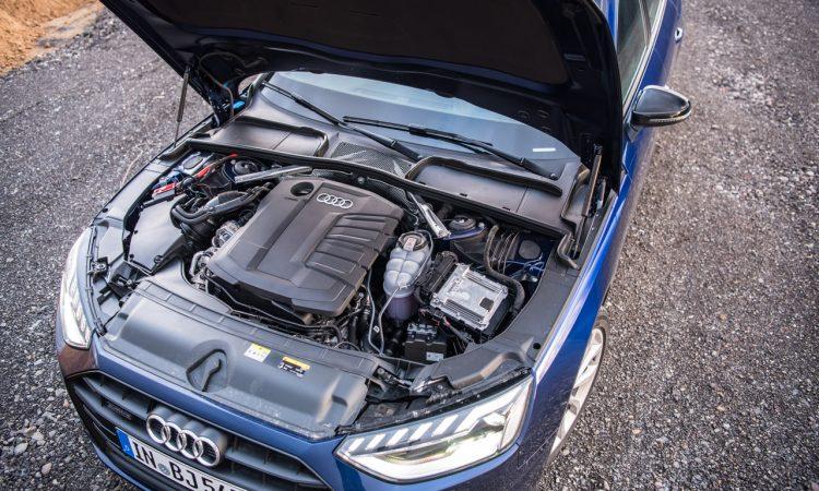 Audi A4 40 TDI quattro mHEV Mild Hybrid im Test AUTOmativ.de Benjamin Brodbeck 25 750x450 - Audi A4 40 TDI quattro im Fahrbericht: Des Vielfahrers Liebling