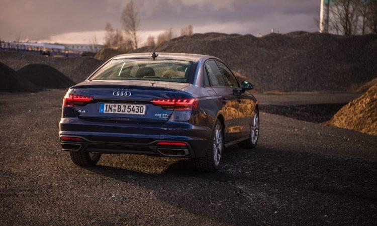 Audi A4 40 TDI quattro mHEV Mild Hybrid im Test AUTOmativ.de Benjamin Brodbeck 8 750x450 - Audi A4 40 TDI quattro im Fahrbericht: Des Vielfahrers Liebling