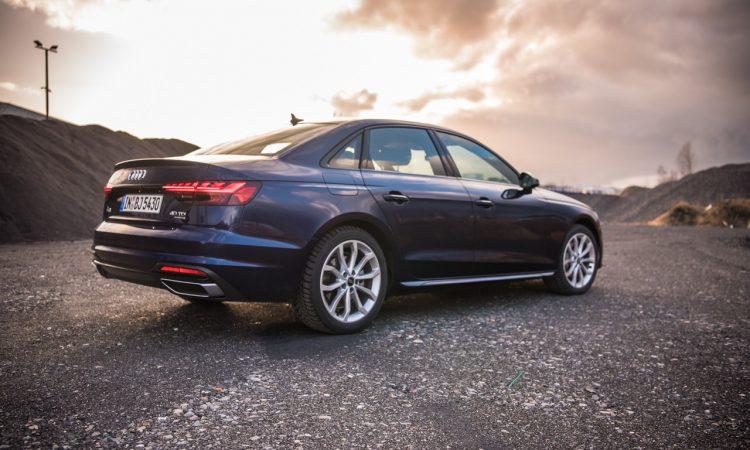 Audi A4 40 TDI quattro mHEV Mild Hybrid im Test AUTOmativ.de Benjamin Brodbeck 9 750x450 - Audi A4 40 TDI quattro im Fahrbericht: Des Vielfahrers Liebling