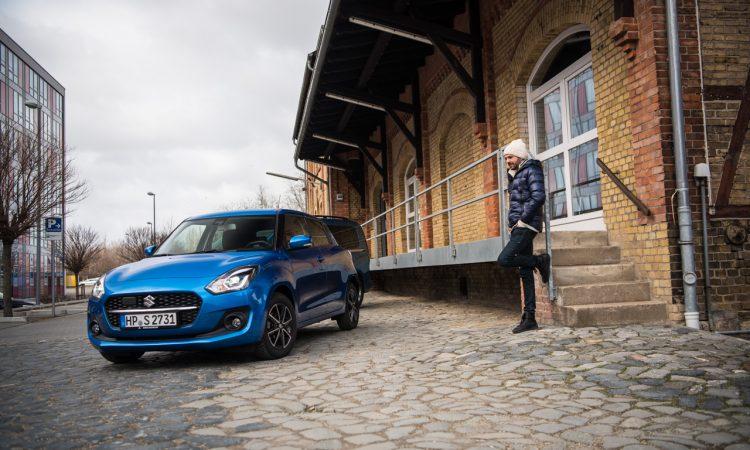 Suzuki Swift 1.2 DualJet Hybrid Comfort Mild Hybrid im Test und Fahrbericht Ausstattung Verbrauch AUTOmativ.de Benjamin Brodbeck 6 750x450 - Suzuki Swift 1.2 Hybrid Fahrbericht: Modern in kleinem Rahmen