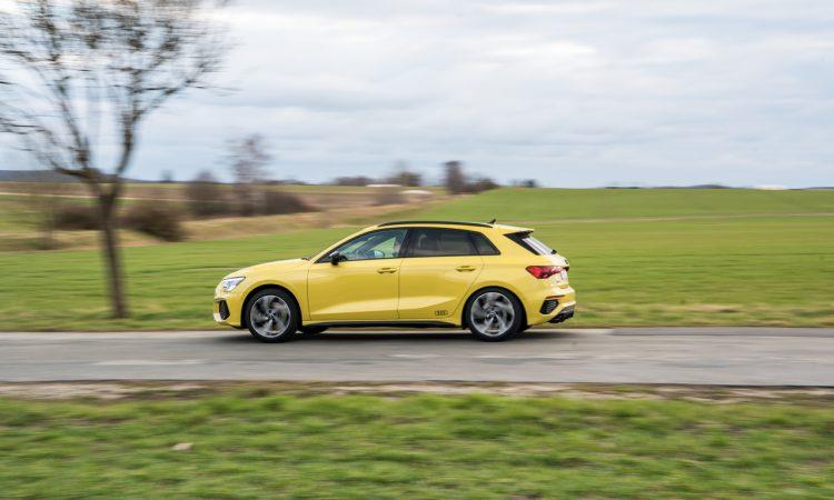 Audi S3 vs. Golf 8 R Review Test Ausstattung Preis Fahrdynamik Technologie Autobahn AUTOmativ.de Benjamin Brodbeck 57 750x450 - Fahrbericht Audi S3 (310 PS): Der Golf R von Audi?