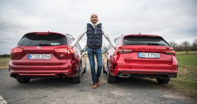 Ford Focus ST Turnier vs. Skoda Octavia RS Combi: Power-Kombis im Test!