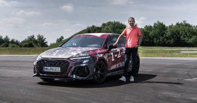 Neuer Audi RS 3 mit 5-Zylinder und Torque Splitter: Erste Mitfahrt!