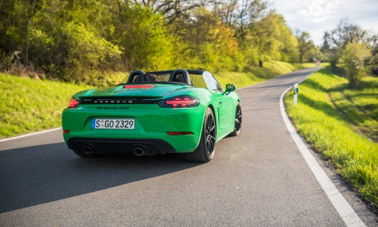 Porsche 718 Boxster GTS 4.0 PDK Test Review Fahrbericht Besser als 981 Boxster GTS AUTOmativ.de Benjamin Brodbeck 11 750x450 - Porsche 718 Boxster GTS 4.0 PDK im Test: Kills bugs wirklich fast?