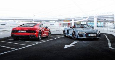Audi R8 V10 performance RWD 2021 News AUTOmativ.de 15 390x205 - Hecktriebler: Audi R8 V10 performance RWD kommt als Spyder und Coupé